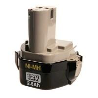 Batterie d'origine Makita Ni-Mh 12 V - 2,5 Ah - 1234