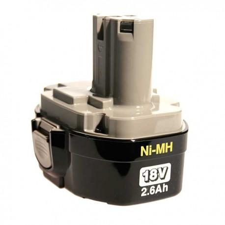 Batterie d'origine Makita Ni-Mh 18 V - 2,5 Ah - 1834
