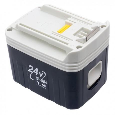 Batterie d'origine Makita Ni-Mh 24 V - 3,1 Ah - BH2433