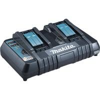 Chargeur rapide 2 batteries d'origine Makita Li-Ion 14,4 à 18 V - DC18RD