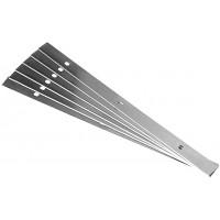 6 Couteau réversible Festool 19x1x205 pour PL 205 E, PLP 205 E