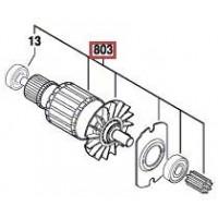 Induit Bosch pour GBH 36 VF-LI (3 611 J01 R00)