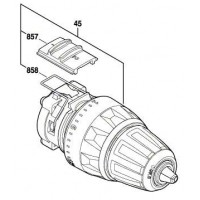 Boite & Mandrin 2 609 199 296 Bosch GSR 14,4 V-LI, GSR 18 V-LI