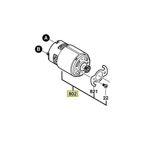 Moteur à courant continu Bosch GSR 14,4 V-LI