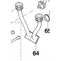 Tuyau flexible 424777-7 pour découpeuse thermique Makita EK6100