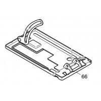 Base aluminium 163471-3 pour scie circulaire Makita BCS550, DCS550