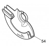Carter de lame 158116-6 scie circulaire Makita BCS550, DCS550