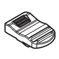Bouton poussoir d'interrupteur meuleuse Makita DGA504, DGA506
