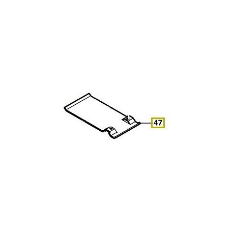 Plaque ponceuse à bande Bosch PBS 75 A, PBS 75 AE, GBS 75 A, GBS 75 AE