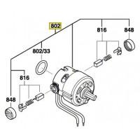 Moteur à courant continu pour visseuse à choc Bosch GDR 14,4 V-LI