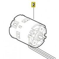 Moteur à courant continu pour perceuse Bosch GSB 14,4 VE-2-LI