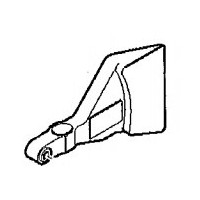 Garde secondaire gauche pour scie radiale Makita LS1214