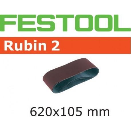 Bandes abrasives Festool 620x105 mm Grain 80