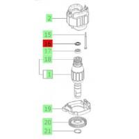 Rondelle de compensation 14 x 21,8 x 0,3 mm