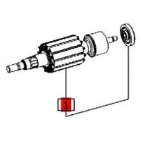 Induit 491854 pour scie sauteuse Festool PS 300 Q, PSB 300 Q