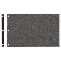 Patin graphite pour ponceuse à bande Bosch GBS 100 A et GBS 100 AE