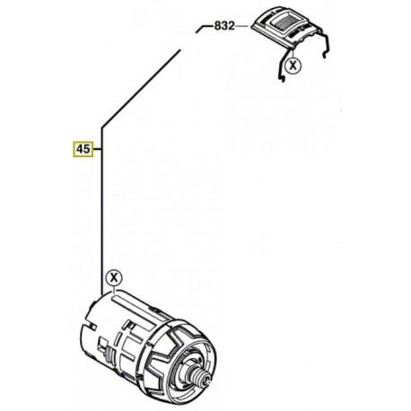 Boitier d'engrenage GSR 14,4 VE-2LI & GSR 18 VE-2LI