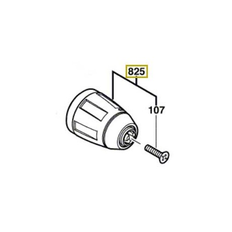 Mandrin auto-serrant Bosch