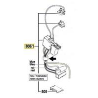 Interrupteur pour perforateur 36V Bosch GBH 36 V-LI, GBH 36 VF-LI