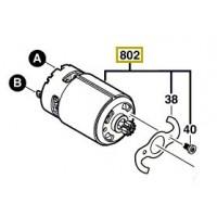 Moteur à courant continu pour perceuse visseuse Bosch GSR 14.4-2-LI