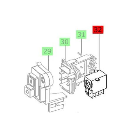 Interrupteur/Contacteur pour scie Festool CS 70, CS 70 E, CS 70 EB