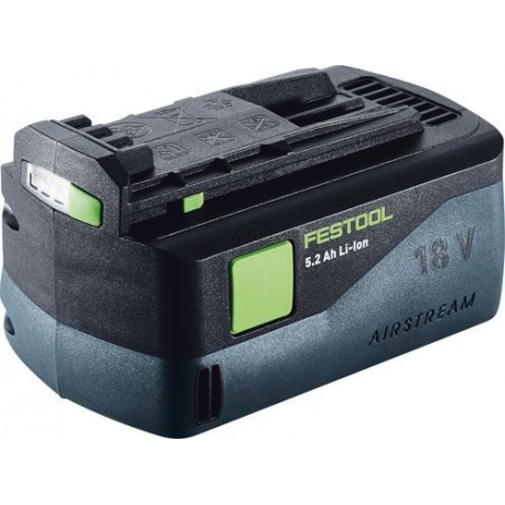 Batterie Festool 18V Li-Ion - 5,2 Ah AIRSTREAM - BP 18 Li 5,2 AS