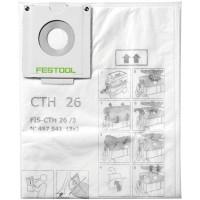 Sac de sécurité 497541 pour aspirateur Festool CTH 26