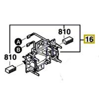 Porte charbon Bosch PWS 700-115, PWS 720-115, PWS 750-115, PWS 750-125