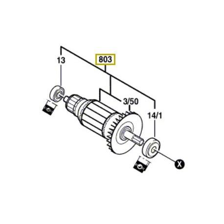 Induit perforateur Bosch PBH 200 FRE, PBH 200 RE, PBH 180 RE, PBH 160
