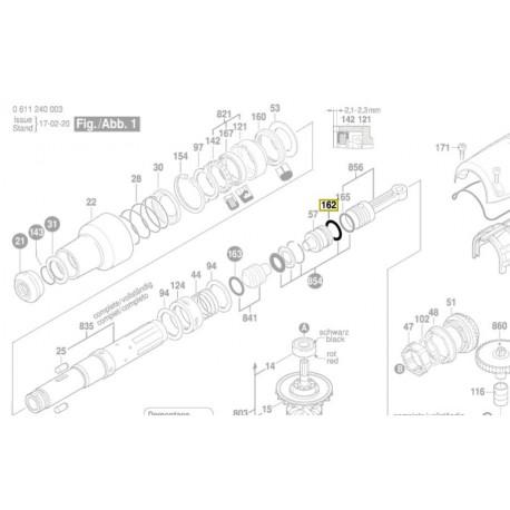 Joint perforateur Bosch GBH 5-38 D, GBH 5-40 DE, GBH 500, GBH 5400