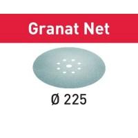 25 Abrasifs Maillé Festool Granat Net ∅ 225 mm - P100
