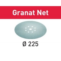 25 Abrasifs Festool Granat Net - ∅225 mm - P100