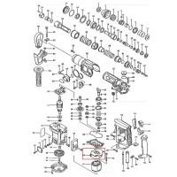 Couronne/Déflecteur 417010-4 pour perforateur Makita HR3000C, HR3550C
