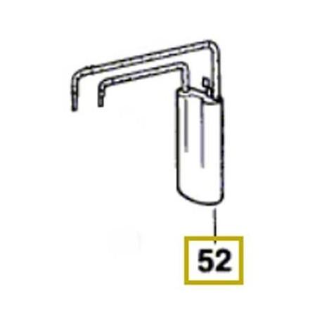 Condensateur Bosch 2 607 329 096 CSB 620-2 E, PBH 20-RLE, UBH 2/20 RLE