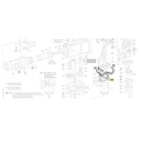 Inducteur pour marteau piqueur Bosch GSH 27 (0 611 304 103)