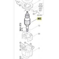 Induit Bosch 1 614 011 139 pour marteau piqueur Bosch GSH 27 VC