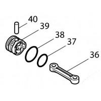 Bielle et Piston pour perforateur Maktia HR4001C, HR4010C, HR4011C