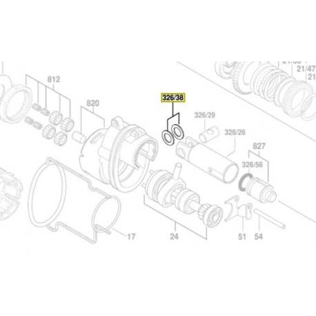 Disque de guidage 1 610 100 016 Bosch GBH 18 V-EC, GBH 18 V-LI, GBH 36 V-LI