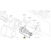 Arbre intermédiaire 1 607 000 D10 Bosch pour GBH 18 V-LI, GBH 36 V-LI