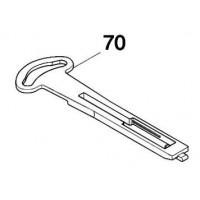 Plaque de contrôle 454770-7 pour le perforateur Makita : HR5212C