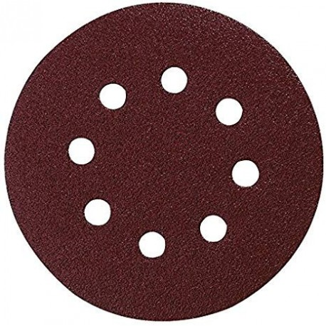 10 Disques abrasifs Makita P-43549 diamètre 125mm - Grain 60