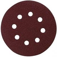 10 Disques abrasifs Makita P-43555 diamètre 125mm - Grain 80