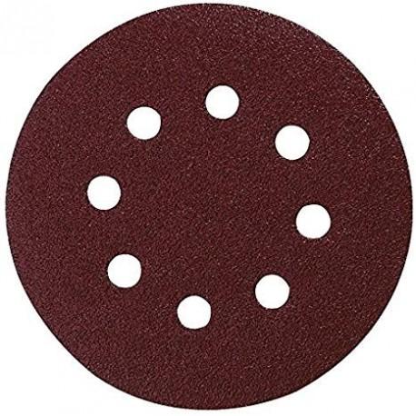 10 Disques abrasifs Makita P-43583 diamètre 125mm - Grain 180