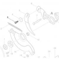 Vis 922422-3 couteau diviseur scie circulaire Makita 5103R 5143R 5903R