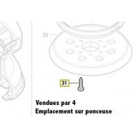 Vis a tête bombée Torx 4x12 Bosch 2 603 490 021