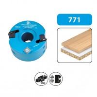Porte-outils à profiler et à feuillurer - hauteur 50 - diamètre 100