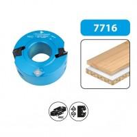 Porte-outils à profiler et à feuillurer - hauteur 50 - diamètre 120