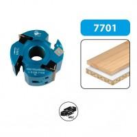 Porte-outils à profile/feuillurer double entraxe - hauteur 50 - diamètre 120
