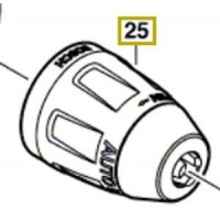 Mandrin 2 608 572 251 visseuse Bosch GSR 14,4 V-LI et GSR 18 V-LI