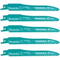 Lames de scie sabre/récipro Makita pour métal - réf: B-05038